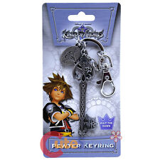 Kingdom Hearts Oblivion Key Chain Licensed Pewter Metal Key Ring