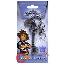 Kingdom Hearts Oblivion Key Chain Licensed Pewter Metal Key Ring