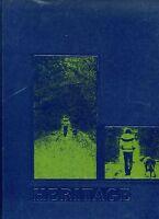SHAWNEE MISSION SOUTH HIGH SCHOOL, SHAWNEE MISSION, KS YEARBOOK - HERITAGE -1971