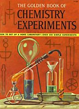 The Golden Book of Chemistry Experiments Rare Banned edition 1963 Ebook Cd PDF