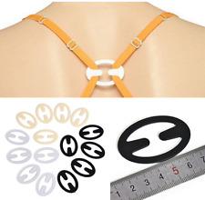 15Pcs Bag Bra Buckle Clips Back Strap Holder Perfect Adjust Belt Clip Cleavage