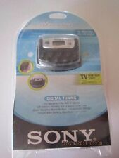 2003 Sony SFR-M37V Walkman TV/Weather FM/AM Radio New / Unopened RARE!