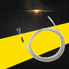 PT100 Thermocouple K-Type PTFE Corrosion protection Waterproof 1-5M 3.2-16ft