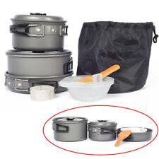 Topfset Outdoor Camping Kochgeschirr Kochset Antihaft Topf Pfanne Kochtopf Pot