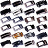 Fashion Men Automatic Buckle Belt Waist Ratchet Waistband Genuine Leather Belts