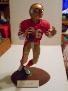 "Gartlan Signed Figurine Joe Montana San Francisco 49ers ""Passing Perfection"""