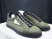 "FENDI ""Bad Bugs"" Equator Green / Chrome Sneaker Retail $750"