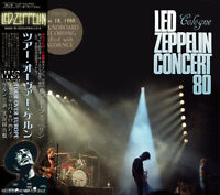LED ZEPPELIN / TOUR OVER COLOGNE 2CD SPORTHALLE GERMANY JUNE 18, 1980