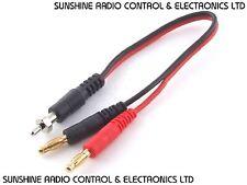 RC glow start glow starter câble de recharge plomb 4 Mm Banane charge connecteurs (C)