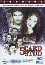 DVD 5 Card Stud McClatchy Haje Toffler Five Romance Comedy All PAL Regions BNS