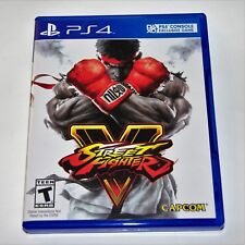 Replacement Case (NO GAME) Street Fighter V 5 Playstation 4 PS4 Box