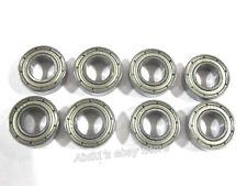 8pcs 16 x 8 x 5mm Mini Sealed Metal Shielded Deep Groove Steel Ball Bearing