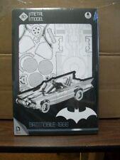"""BATMAN 1966 BATMOBILE 3D UNIVERSE METAL MODEL KIT 10"""" METAL MODEL  #sapr17-13"""