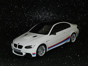 GT Spirit Models 1/18 BMW M3 E92 White L/E MiB