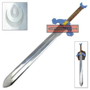 Legend of Zelda Master Sword Phantom Hourglass Steel Blade Link Display Cosplay