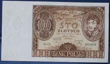 #  Polen   100 zl 1934 stan I-...od 39,99,zl #