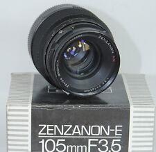 Zenza Bronica Zenzanon MC 105mm f3.5 Lens for ETR ETRS ETRSI 6X4.5 MEDIUM FORMAT