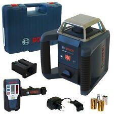 Bosch rotación láser grl 400 H con laser-receptor lr1 en el maletín 0601061800