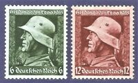 DR Nazi 3rd Reich Rare WW2 Stamp Hitler Hero Day Memory Battle Soldier War UForm