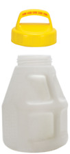 Oil Safe Container Drum for Oil 10 Litre With Lid Yellow
