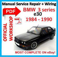 # OFFICIAL WORKSHOP MANUAL service repair FOR BMW series 3 E30 1984 - 1990