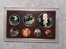 1975 Cook Islands 7-Coin Proof Set Minted at Franklin Mint with Ogp and Coa *
