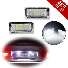 Error Free LED White License Plate Lights For BMW 320i 323i 330i 325xi 330xi etc