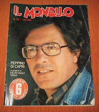"""Libri/Riviste/Giornali """" IL MONELLO """" Peppino Di Capri / N°50 / Anno 1977"""