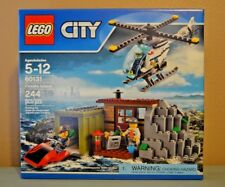 "Lego City 60131 ""Crooks Island"" NIB NEW  3 Minifigs 244 Pieces Police Helicopter"