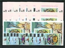 Guinea - Bissau 374 / 379 aA Block 11/17 aA postfrisch + aB / UPU - Musik 2/4550