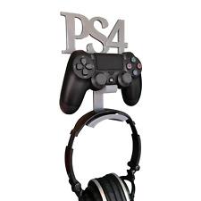 Soporte de Pared para PLAYSTATION 4/PS4 Controlador & Auriculares