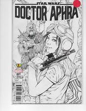 STAR WARS DOCTOR APHRA #1 LEGENDS COMICS ASHLEY WITTER SKETCH VARIANT COVER