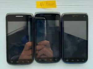 Lot of 3 Samsung Galaxy Exhibit SGH-T679 4GB T-Mobile Smartp..  - Fast Shipping!
