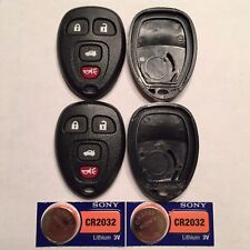2 New 4 Button Remote Shell Cases + CR2032 Batteries OUC60270/OUC60221 15912859