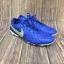 Nike Tiempo Legend 8 Elite FG Hyper Royal Blue/White AT5293-414 Men's Size 9