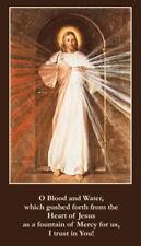 "Jesus, ""Love and Mercy"" Prayer Card, 10-pack, plus a bonus prayer card"