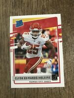 2020 Panini Donruss Football Clyde Edwards Helaire Rated Rookie RC #321 Chiefs🔥