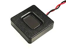 25x25x7mm 4 Ohm Square Megabass Speaker For DCC Sound Decoder Loksound 4, 5 Zimo