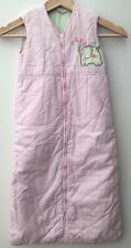 Baby Girls Pink Sleep Bag Age 6-18 Months Living Textiles <NH8689z