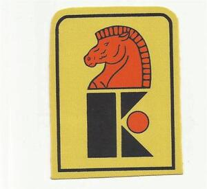VINTAGE 1973-74 New Jersey Knights WHA Hockey Jersey Patch SUPER RARE *P5