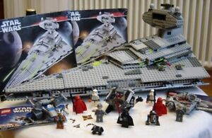 Grand lot rare LEGO STAR WARS set 6211 Imperial Star destroyer + 3 Microfighters