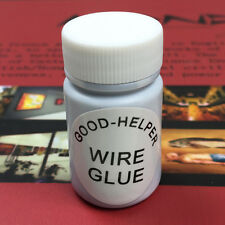 Electrically conductive wire glue Bond low voltage electrical connections 18ml