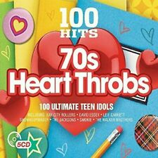 100 Hits: 70s Heartthrobs by Various Artists (CD, Oct-2016, 5 Discs, 100 Hits)