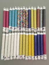 """Seed Beads Lot of 30 5"""" Vials 8/0 700+ grams Opaque Costumes Crafts Jewelry #10"""
