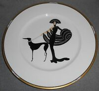 "Mikasa Bone China ERTE SYMPHONY IN BLACK 12"" Charger"