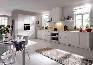 Schüller Küche Canto Weiß Satinlack