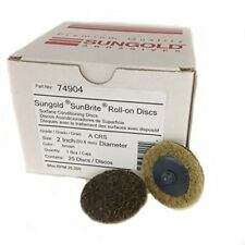 New listing 74904 Coarse Non Woven Surface Conditioning R-Type Quick Change Brown-Coarse