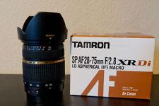 Tamron SP AF 28-75mm F/2,8 XR Di LD Asphérique (IF) Macro - Monture Canon