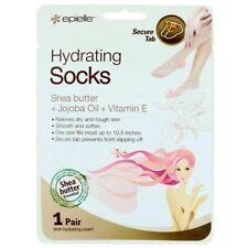 Epielle Hydrating Socks Shea Butter Jojoba Oil Vitamin E Heat Activated Cream