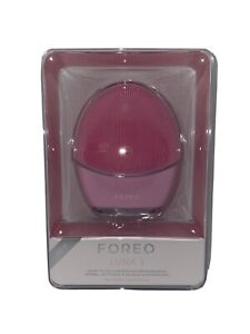 FOREO LUNA 3 Smart Facial Cleansing Firming Massage for Normal Skin PINK New!
